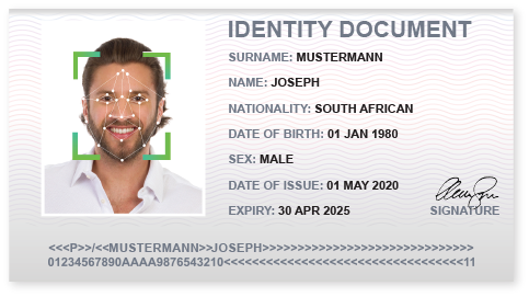 face recognition id example
